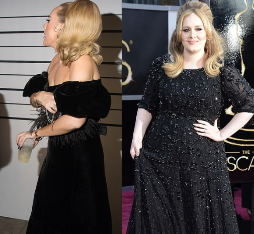 Singer Adele Shows Off Incredible Weight Loss At Drake S Birthday Party
