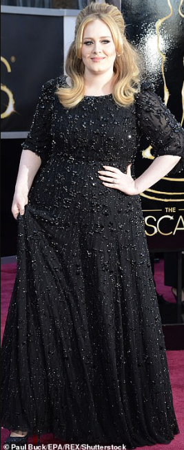 Singer Adele shows off incredible weight loss at Drake