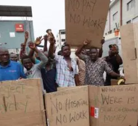Angry workers lock up LG boss over unpaid salaries