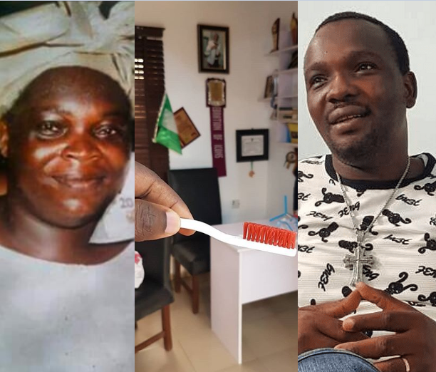 Yomi Fabiyi reveals he and his mum used to share toothbrushes and he continued using her toothbrush for one year after her death