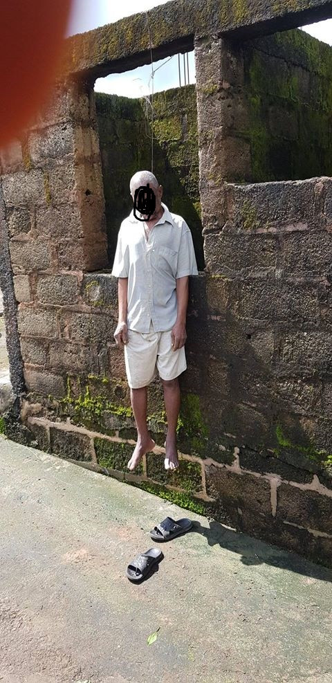 Elderly man commits suicide in Imo state (photo)