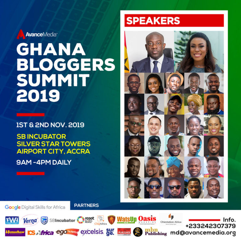 Linda Ikeji, Kojo Oppong Nkrumah set to deliver keynote address at the much anticipated 2019 Ghana Bloggers Summit