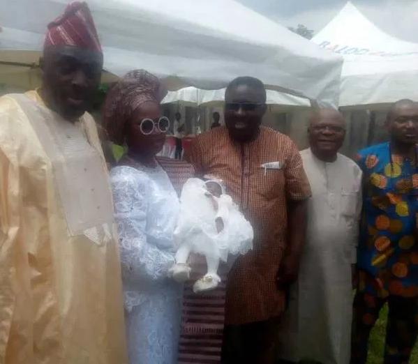 Asiwaju?Tinubu?s daughter, Folasade welcomes second surrogate child