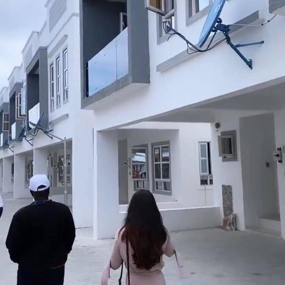 BBNaija winner, Mercy bought the 4-bedroom duplex (see photos of her new house)