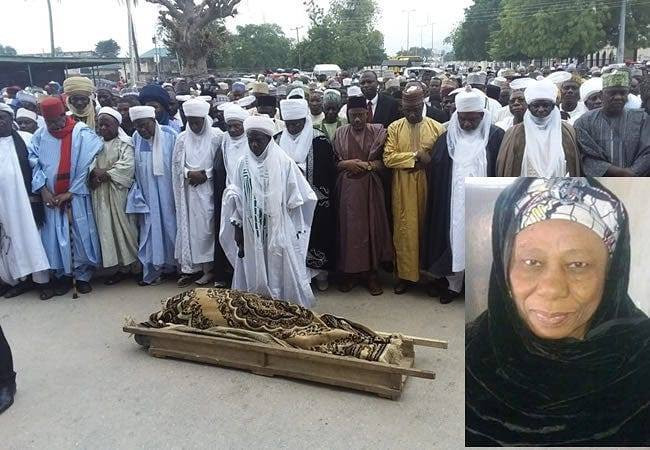 Remains of Abukakar Tafawa-Balewa's wife laid to rest
