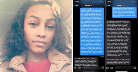 Lady who texted dead dad?s phone for four years non-stop gets shocking text message response
