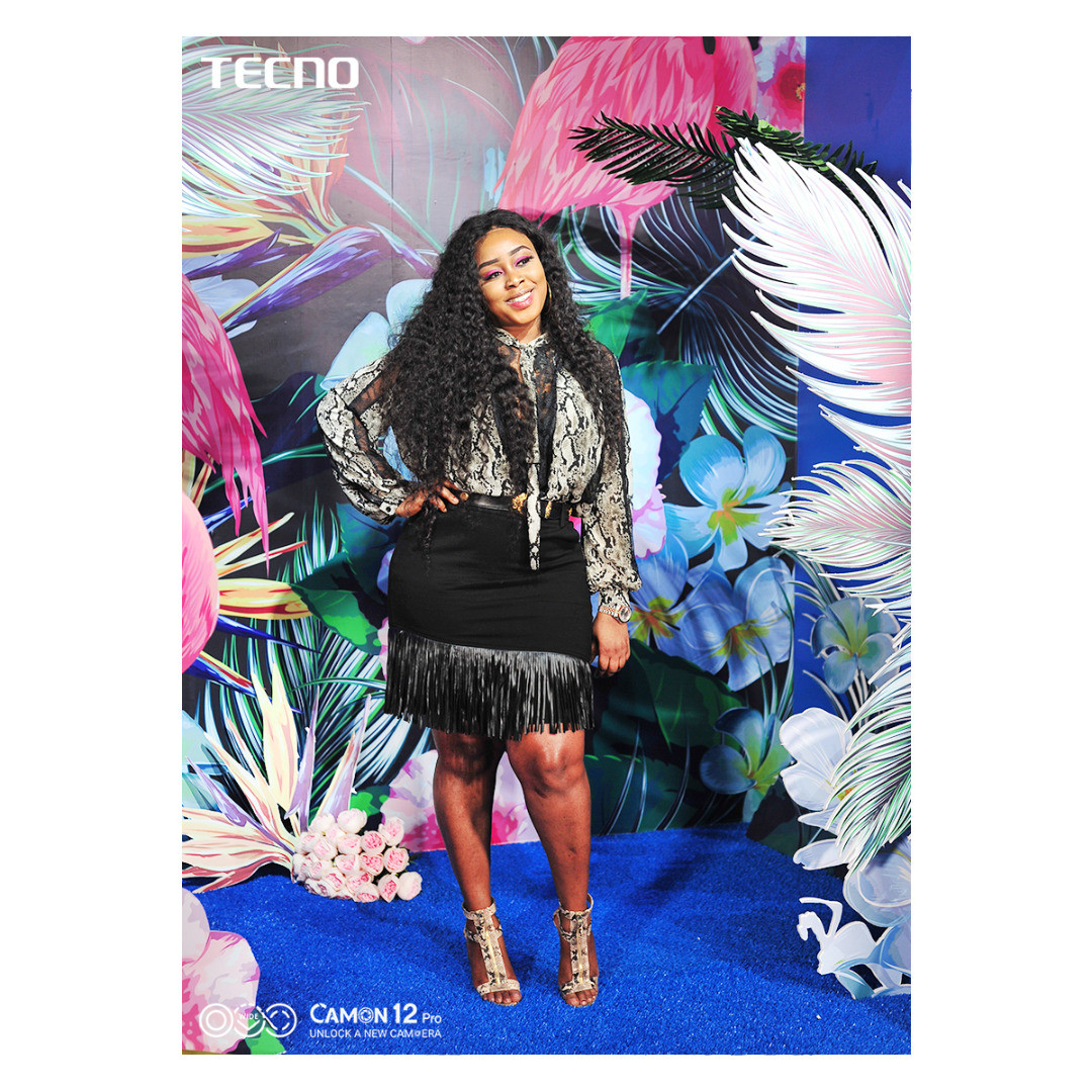 Your Favourite BBNaija Housemates and Celebrity Photographers at LFW 2019 Captured through the Lens of the Camon 12 Pro