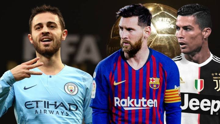C.Ronaldo, Lionel Messi, Benardo Silva & 4 Liverpool players nominated for player of the year award (see full list)