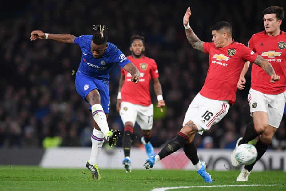 Chelsea 1-2 Man U. Rashford