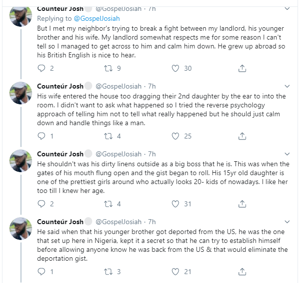 Twitter user narrates how his landlord