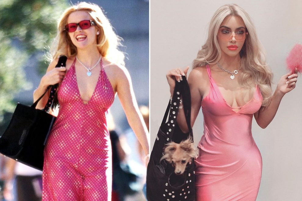Kim Kardashian West recreates Elle Woods