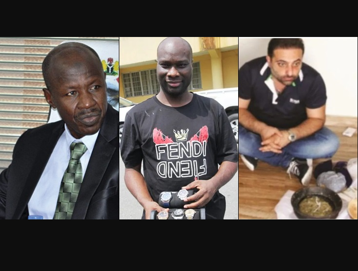 Mompha and his Lebanese accomplice were our biggest catch in October - EFCC boss, Ibrahim Magu says as he reveals how much they
