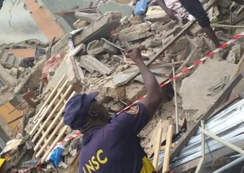 Building collapses on Glover road,?Ikoyi