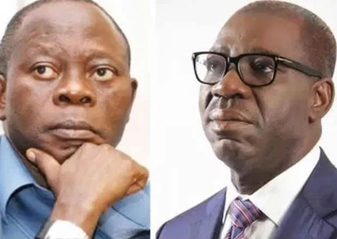 It's shameful that we were attacked in your house - Governor Obaseki fires at Oshiomhole