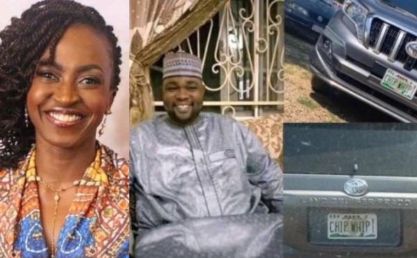 Kate Henshaw mocks Kano 'Chief Whip' over 'Chip Whip' number plate, says 'its what you get for not paying attention to quality education' Kate Henshaw mocks Kano 'Chief Whip' over 'Chip Whip' number plate, says 'its what you get for not paying attention to quality education'