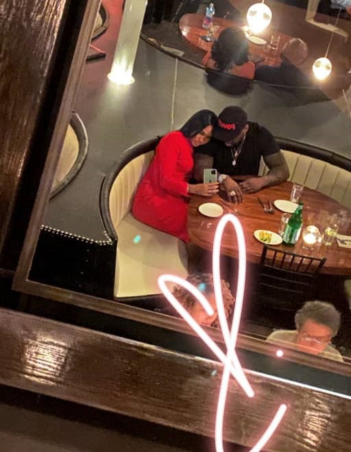 50 Cent spotted enjoying romantic date night with his stunning girlfriend, Cuban Link (Photo)