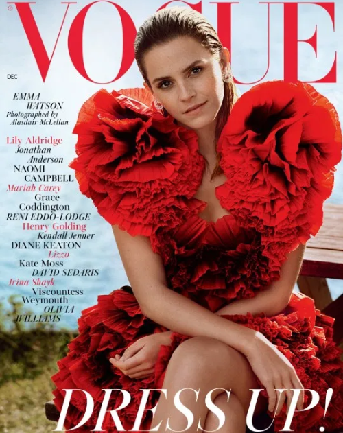 Emma Watson covers Vogue Magazine