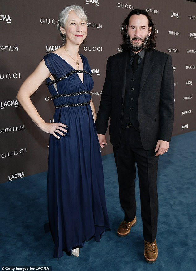 Keanu Reeves makes red carpet debut with his girlfriend Alexandra Grant at an event in LA  and people think she