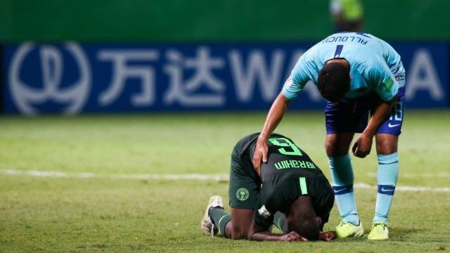 Nigeria 1 -3 Netherlands: Olakunle Olusegun strikes as Golden Eaglets crash out of U17 World Cup
