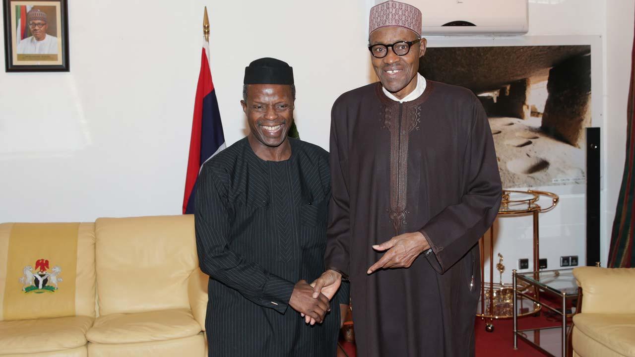 No misunderstanding between Buhari and Osinbajo ? Presidency