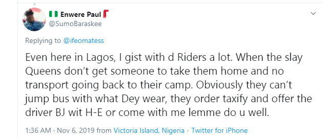 Nigerian lady alleges that