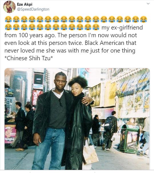Speed Darlington Blasts Black Ex-Girlfriend ,Calls Her A Chinese Dog