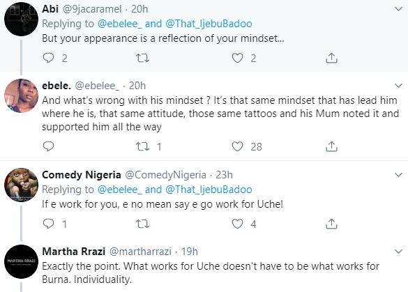 Nigerian lady sparks debate after applauding Burna Boy