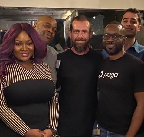 Twitter CEO, Jack Dorsey in Nigeria (Photo)