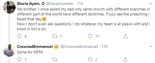 "I guess the God their is not ""strict"" - Twitter users question why Nigerian churches have different rules for their Nigerian members and for foreign church members"