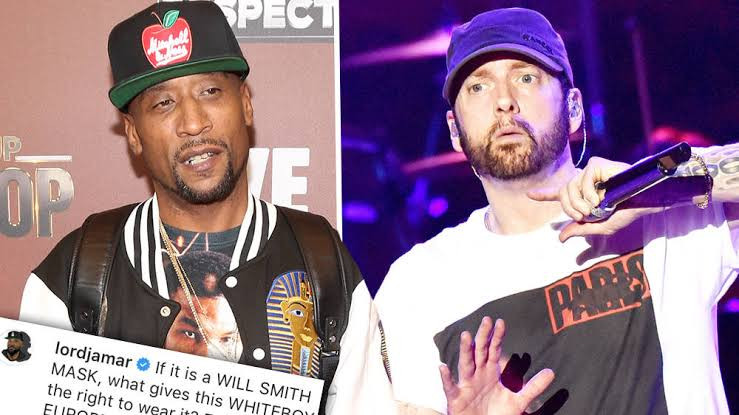 Lord Jamar subtly accuses Eminem of being racist after photo of Eminem wearing a Will Smith 'blackface' emerges