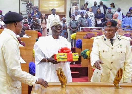 Governor Sanwo-Olu presents N1.168 trillion budget for 2020