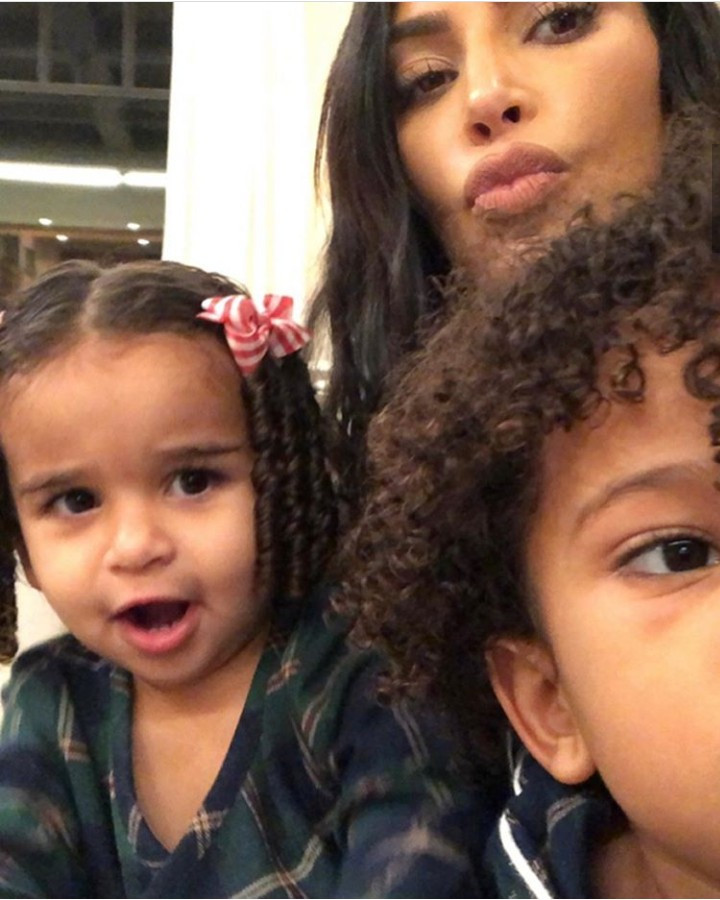 Kim Kardashian releases adorable photos of Dream Kardashian bonding with her kids as she celebrates her on her birthday