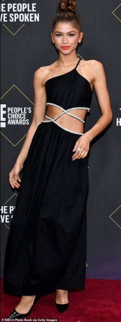 Red carpet fashion at the 2019 People