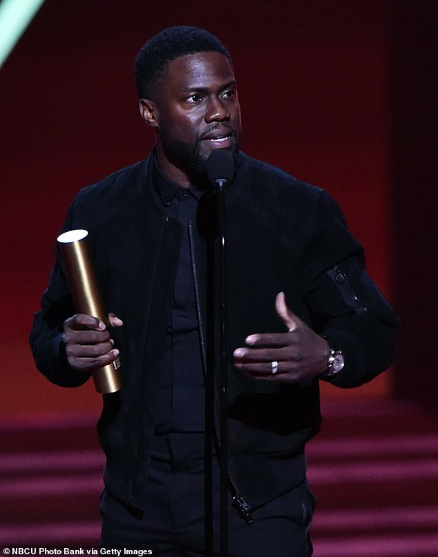 Kevin Hart makes first official appearance since car crash at People