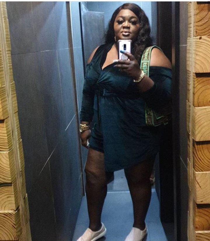 Troll apologizes for body-shaming Eniola Badmus because of the unexpected way she responded