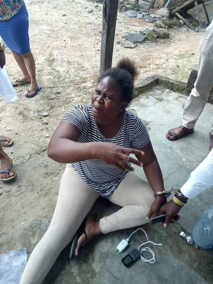 Vigilante group arrests woman and her boyfriend in Delta state for stealing N190, 000 given to her recently widowed sister by sympathizers