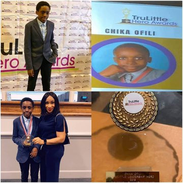 Nigerian boy wins Special Recognition award for discovering a new Mathematics formula
