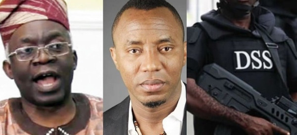 DSS is plotting a fresh charge against Sowore - Falana