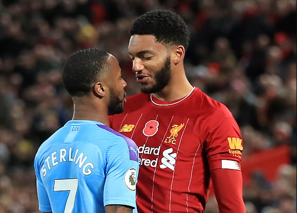 Raheem Sterling dropped by England after trying to grab Joe Gomez by the neck