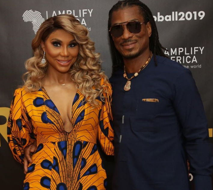 David Adefeso and Tamar Braxton leave followers wondering if it's over between them as he shares cryptic IG post