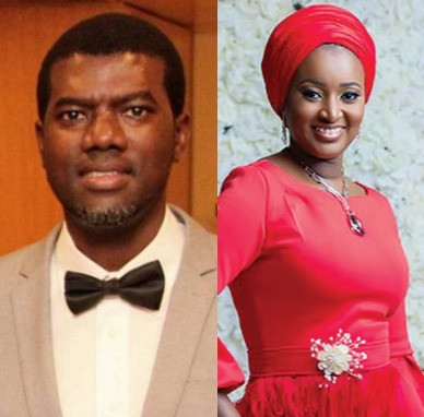 ''I regret ever responding to your silly rant'' Rahma Indimi fires back at Reno Omokri