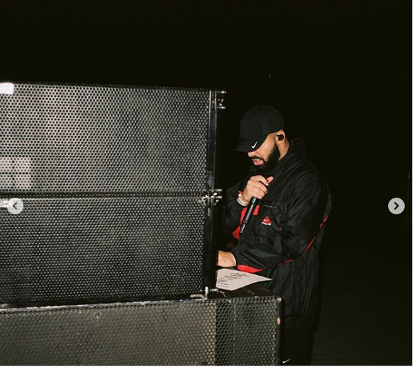 Drake replies the 'Kids'' who booed him off stage with major announcement