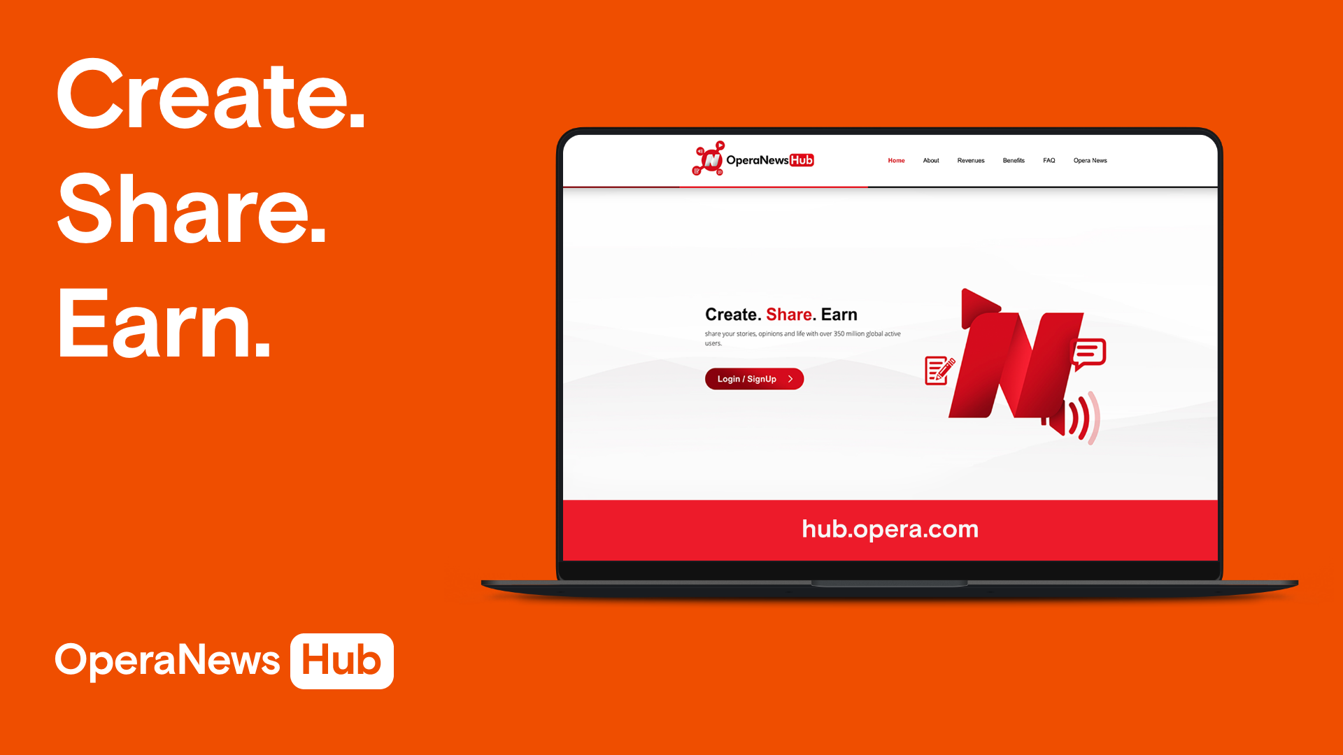 Opera launches Opera News Hub, a new online media platform where content creators can reach over 350 million people