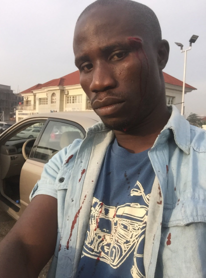Twitter user accuses police officer of assaulting him after he demanded an apology for damaging his car