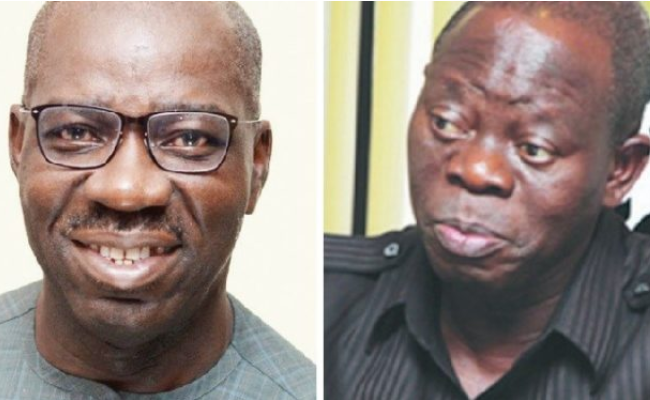 Like Oshiomhole, Edo State APC suspends Governor Obaseki, deputy, SSG over alleged anti-party activities?