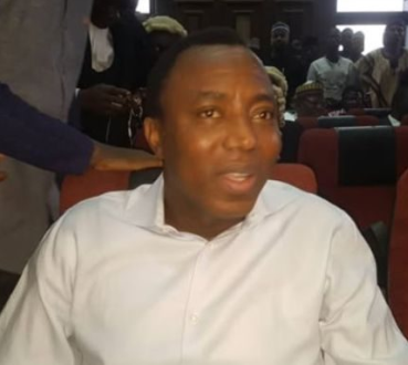 Sowore remains with us until his sureties come for him ? DSS