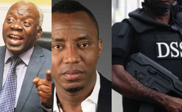 Release Sowore with immediate effect. You want to conduct an illegal verification of sureties - Falana fires back at DSS