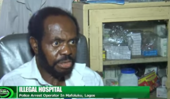 Illegal hospital that has been operated by a Ghanaian for 23 years, discovered in Lagos