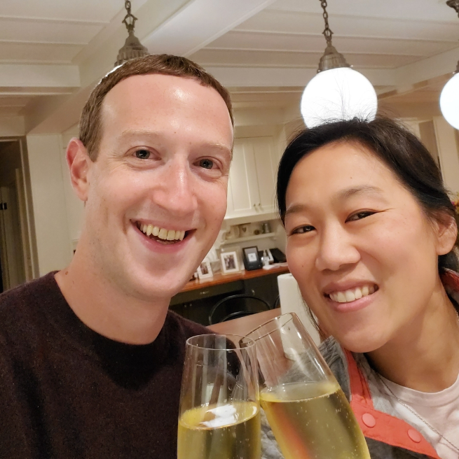 Mark Zuckerberg celebrates the anniversary of his first date with wife Priscilla Chan which took place 16 years ago