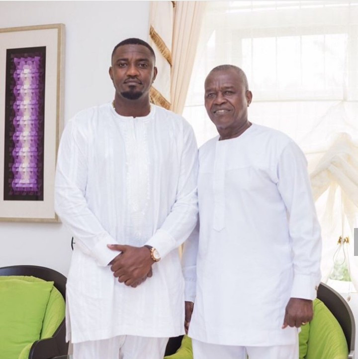 John Dumelo shows off his dad, John Dumelo Sr. as he celebrates him on his birthday